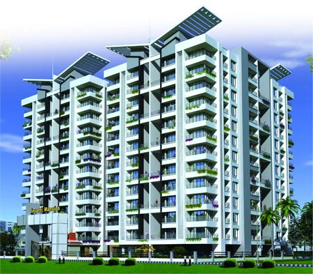JAYANTI MANSION IX 3 BHK & 2 BHK Apartments